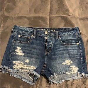 American Eagle Tomgirl Midi Shorts